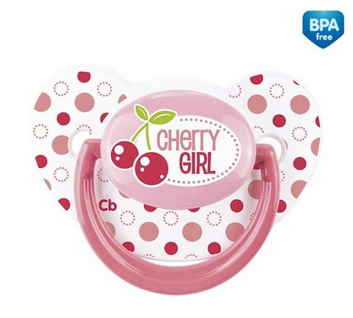 Cumlík Canpol Babies - Ovocie Cherry Girl - 6-18m