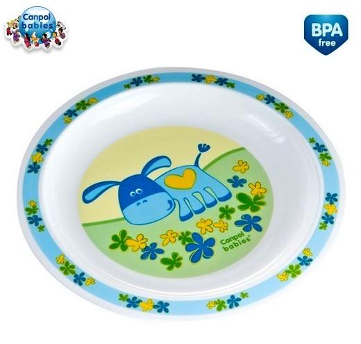 Tanierik Canpol Babies - Oslík modrý