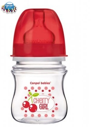 Fľaštička 120ml Canpol Babies - Cherry Girl