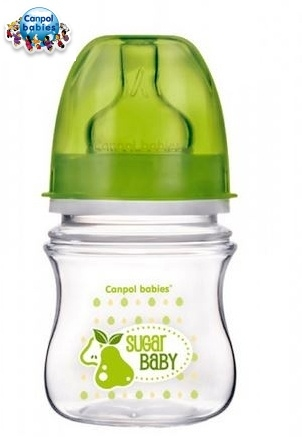 Fľaštička 120ml Canpol Babies - SUGAR BABY