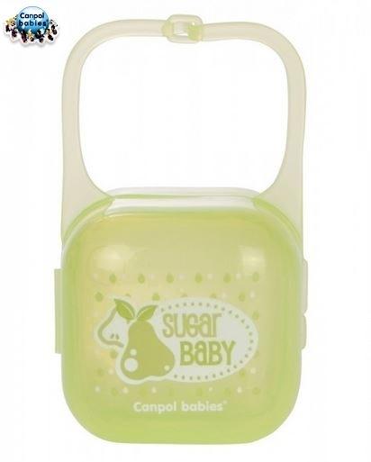 Puzdro na cumlík - zelené SUGAR BABY Canpol Babies