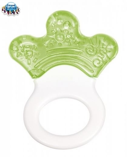Hryzátko s hrkálkou - Lapka - zelené