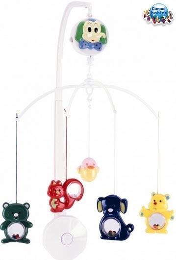 Kolotoč nad postieľku Canpol Babies - Veselé ZOO