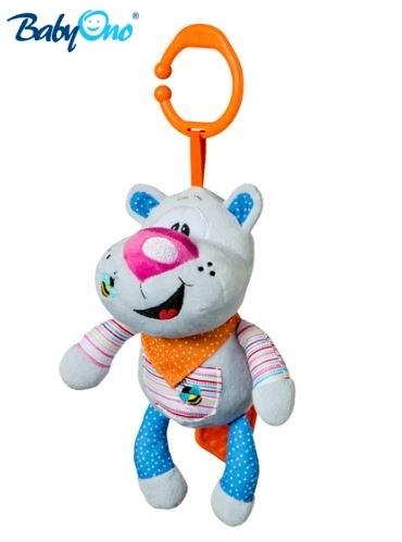 Hrkálka s klipsou a hracím strojčekom Baby Ono - MACKO