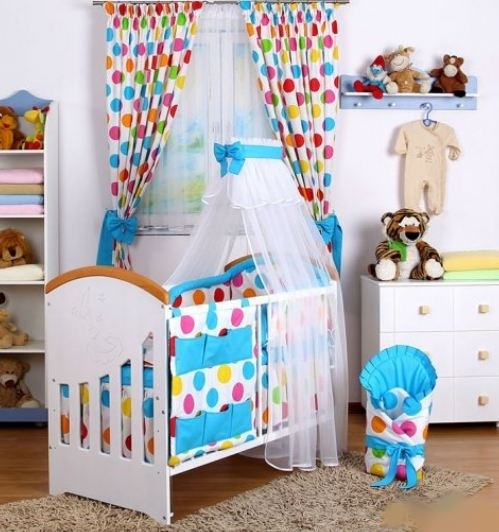 Baby Nellys 10-dielny set Baby Dreams Bubble, 140x70 cm