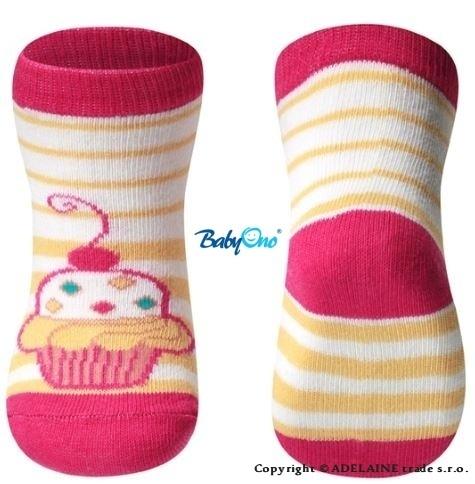 Bavlnené ponožky Baby Ono 6m + - Torta