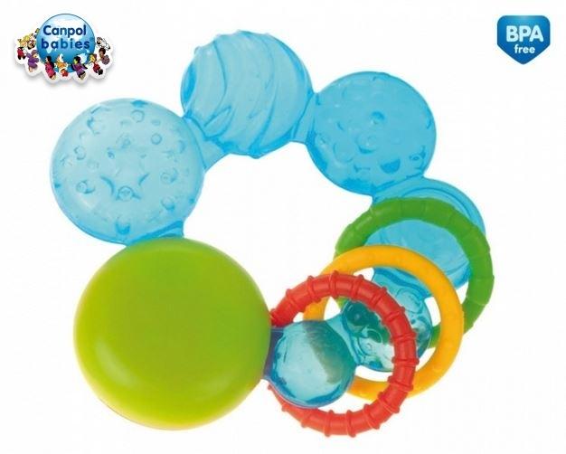 Hryzátko s hrkálkou Canpol Babies - modré