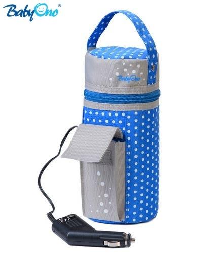 Cestovný ohrievač do auta Baby Ono - modrý