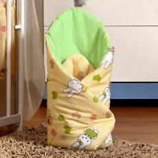 Zavinovačka Hello zajačik krém / zelené
