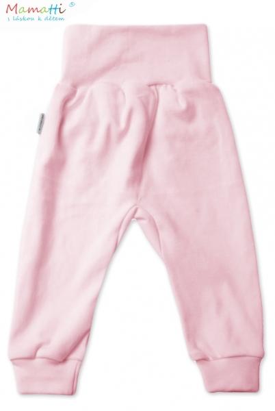 Tepláčky / polodupačky - ružové