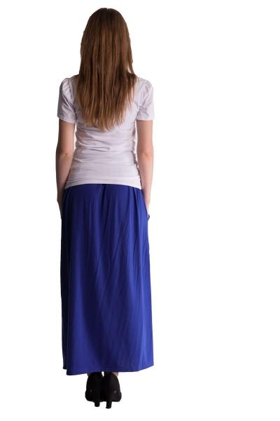 Maxi dlhá sukňa Maxine - tm.modrá / Chaber