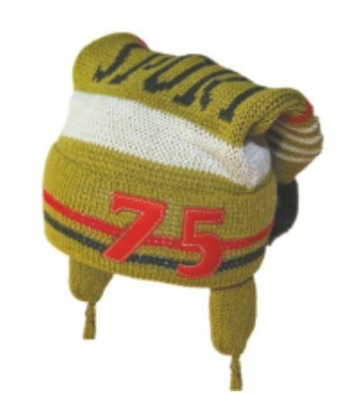 Zimný čiapočka YO! 75 - khaki
