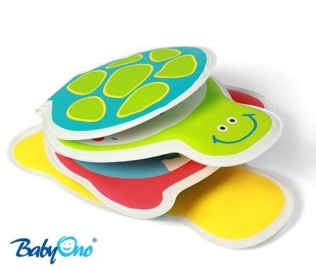 Mäkká knižka Baby Ono - korytnačky