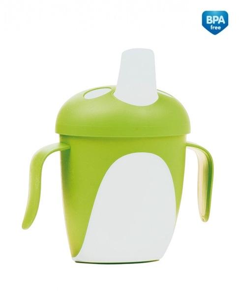 Hrnček Canpol Babies tučnák - zelený