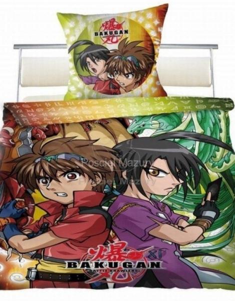 Bakugan - licenčné obliečky