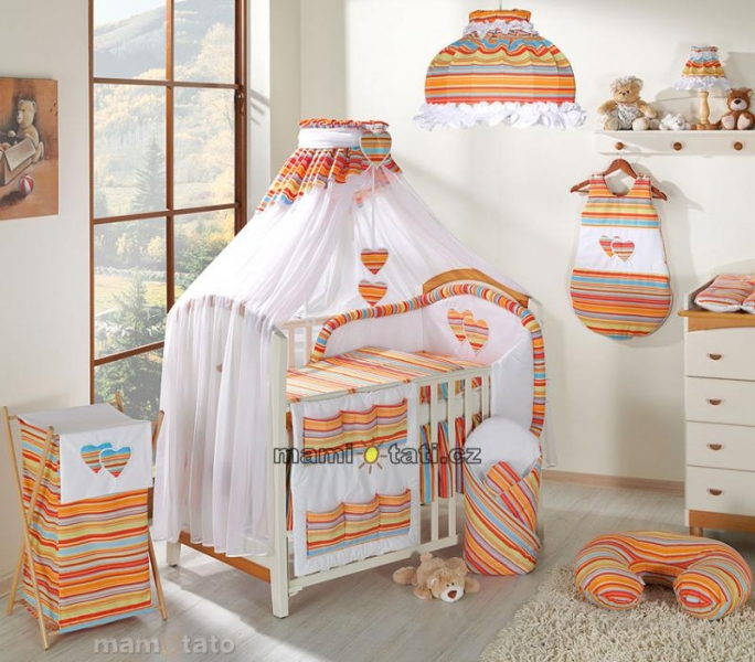Moskytiéra lux - Veselý prúžok pomaranč