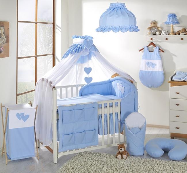 Moskytiéra lux- Srdiečko modré