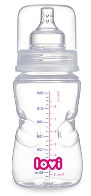 Fľaštička LOVI samosterilizační 250ml