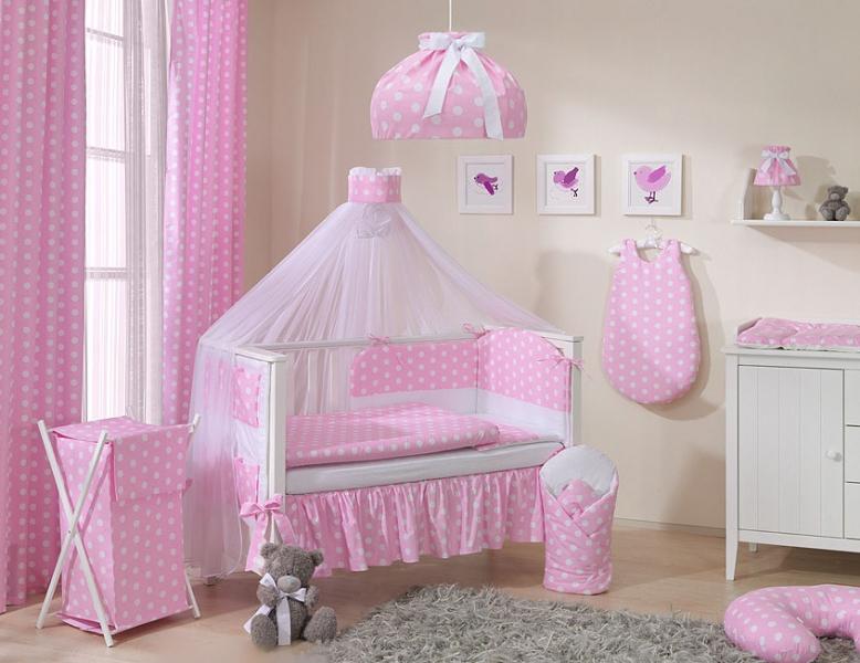 Mamo Tato Luster do detskej izbičky - Bubble retro - ružové