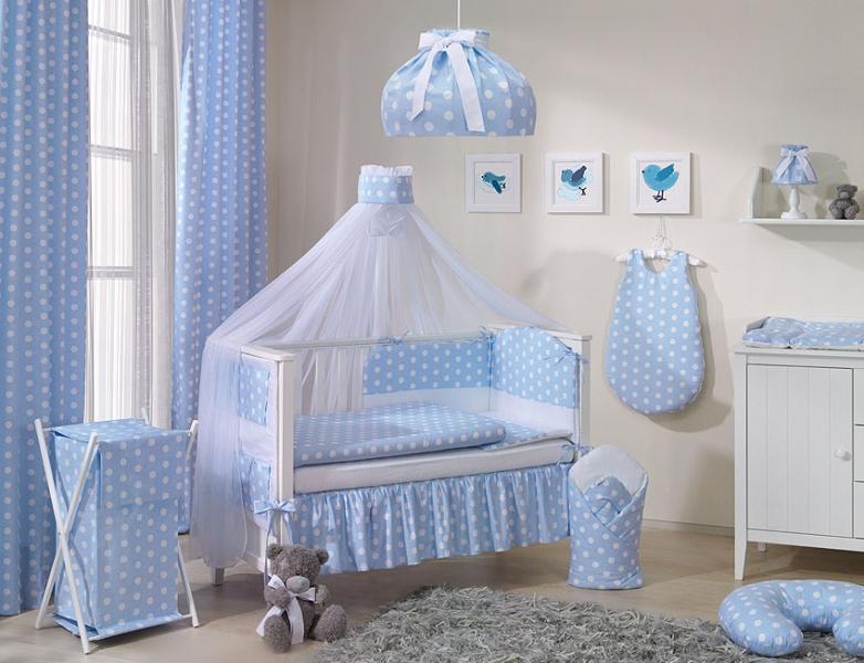 Mamo Tato Luster do detskej izbičky - Bubble retro - modré
