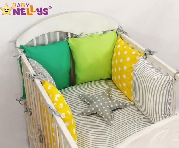 Baby Nellys Mantinel Be Love Lux vankúšikový s obliečkami vzor č. 3