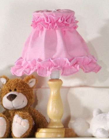 Nočná lampička - Ružová