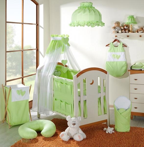 Luster do detskej izbičky - Srdiečko zelené