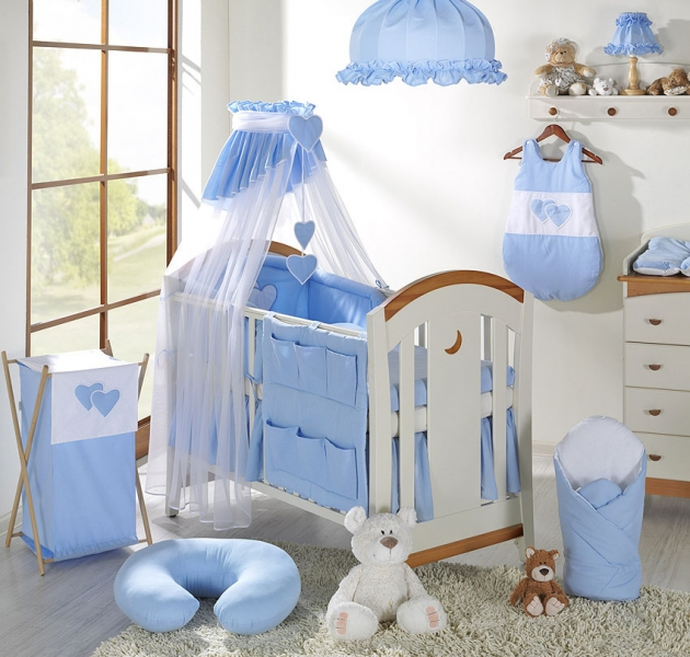Luster do detskej izbičky - Srdiečko modré