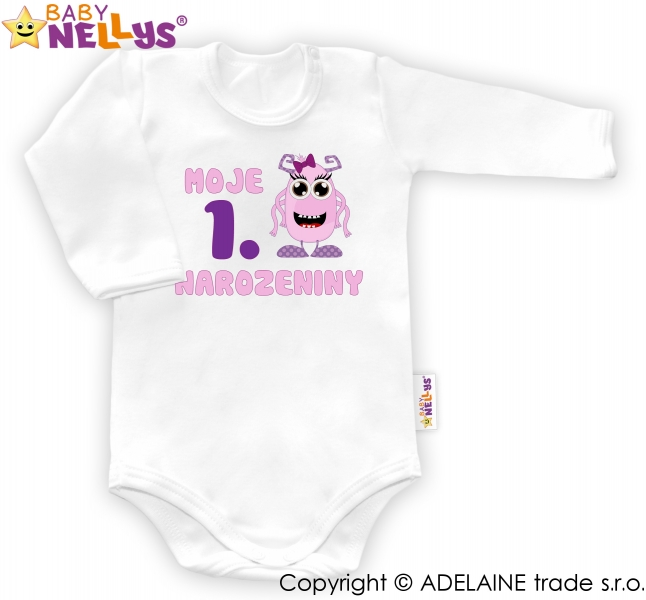 Body dl. rukáv - Moje 1. narodeniny HOLKA Baby Nellys ®