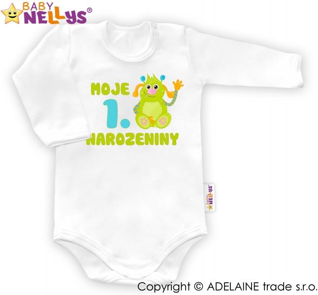 Body dl. rukáv - Moje 1. narodeniny CHLAPEC Baby Nellys ®