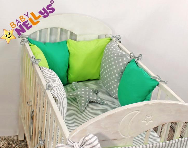 Baby Nellys Mantinel Be Love Lux vankúšikový s obliečkami vzor č. 7