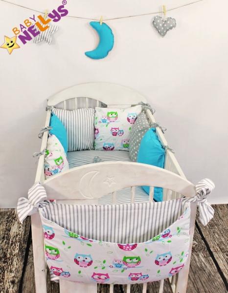 Baby Nellys Mantinel Be Love Lux vankúšikový s obliečkami vzor č. 9