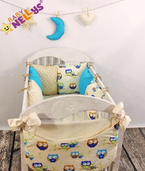 Baby Nellys Mantinel Be Love Lux vankúšikový s obliečkami vzor č. 11