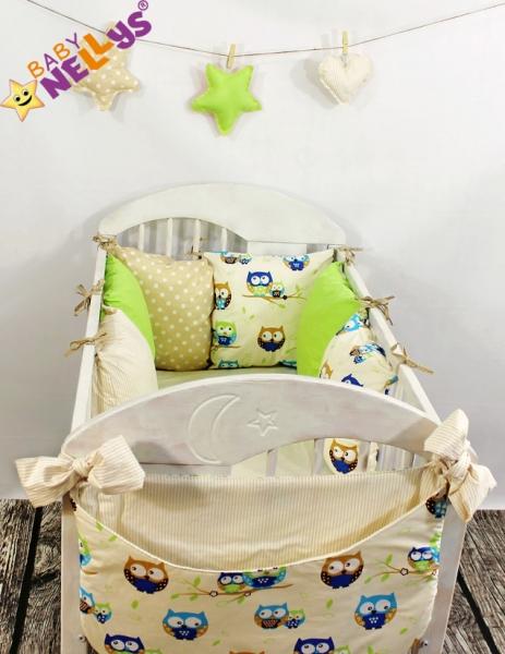 Baby Nellys Mantinel Be Love Lux vankúšikový s obliečkami vzor č. 12