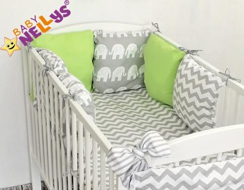 Baby Nellys Mantinel Be Love Lux vankúšikový s obliečkami vzor č. 15