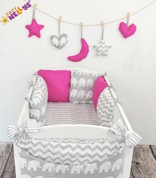 Baby Nellys Mantinel Be Love Lux vankúšikový s obliečkami vzor č. 16