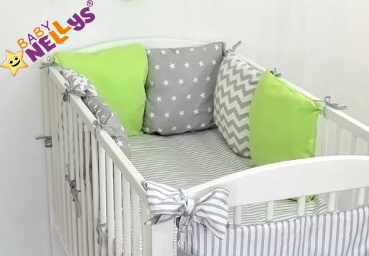 Baby Nellys Mantinel Be Love Lux vankúšikový s obliečkami vzor č. 22