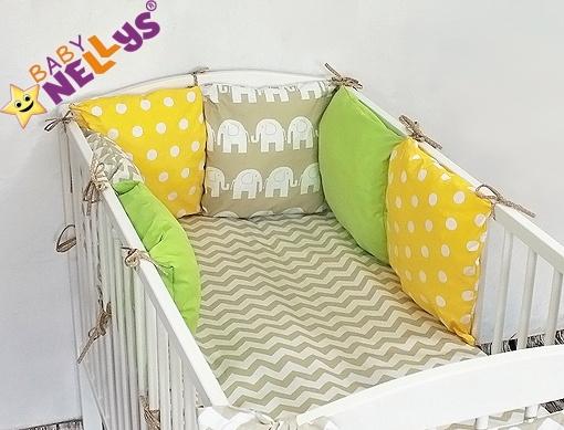 Baby Nellys Mantinel Be Love Lux vankúšikový s obliečkami vzor č. 25