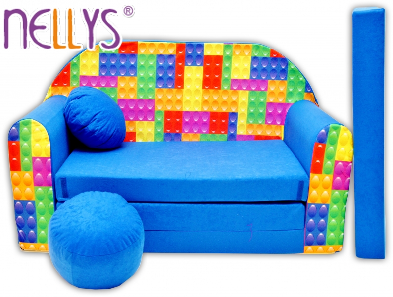 Rozkladacia detská pohovka Nellys ® 65R