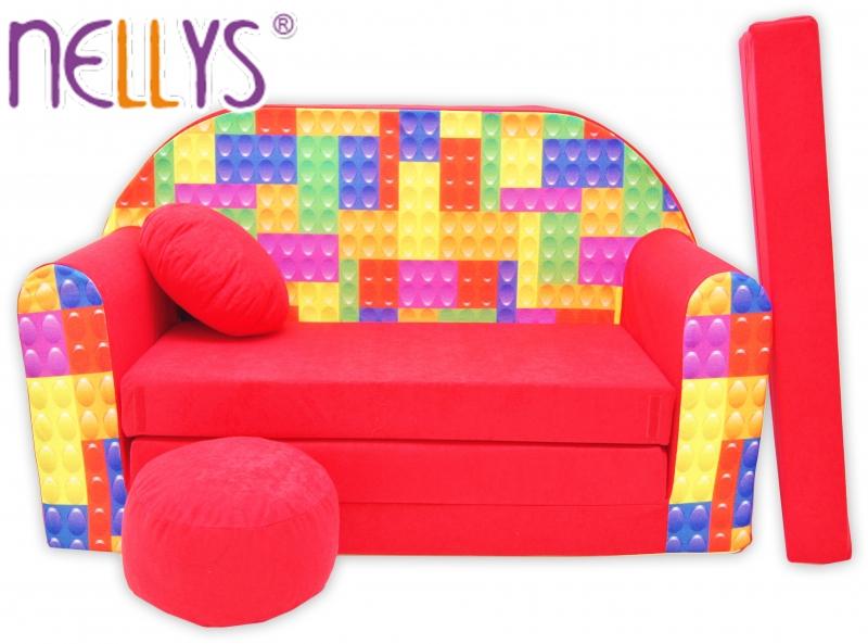 Rozkladacia detská pohovka Nellys ® 66R