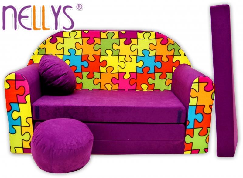 de67c60aabc6 Rozkladacia detská pohovka Nellys ® 68R