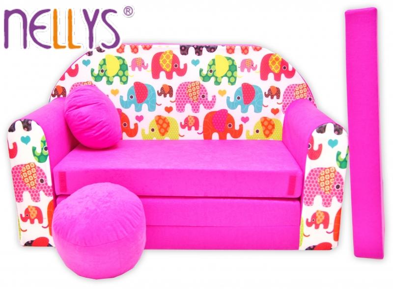 Rozkladacia detská pohovka Nellys ® 69R