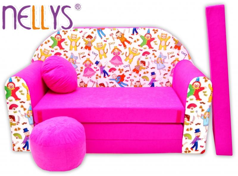 Rozkladacia detská pohovka Nellys ® 70R