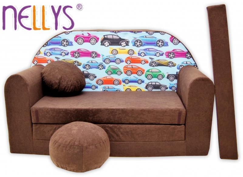 Rozkladacia detská pohovka Nellys ® 72R