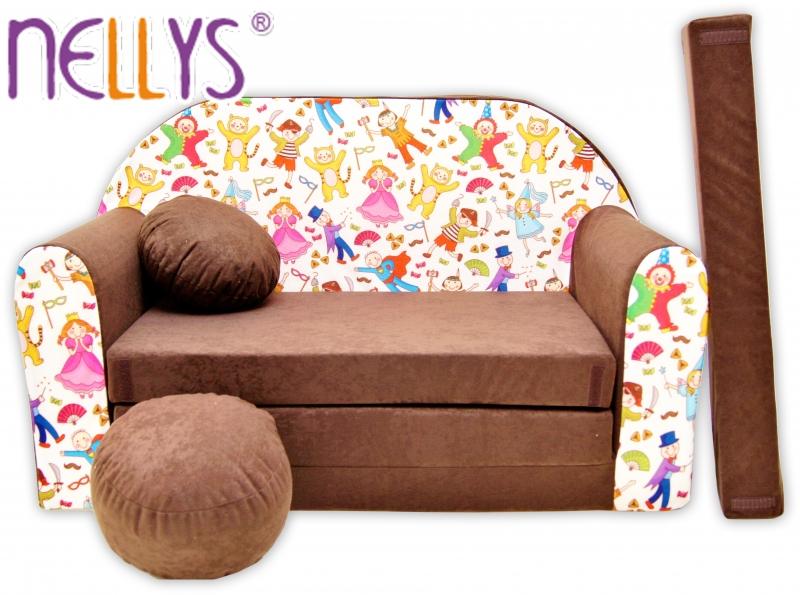Rozkladacia detská pohovka Nellys ® 73R