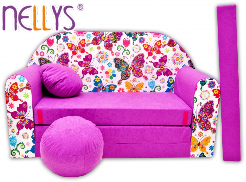 Rozkladacia detská pohovka Nellys ® 74R