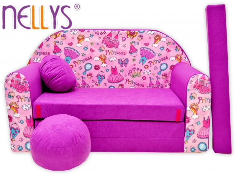 Rozkladacia detská pohovka Nellys ® 75R