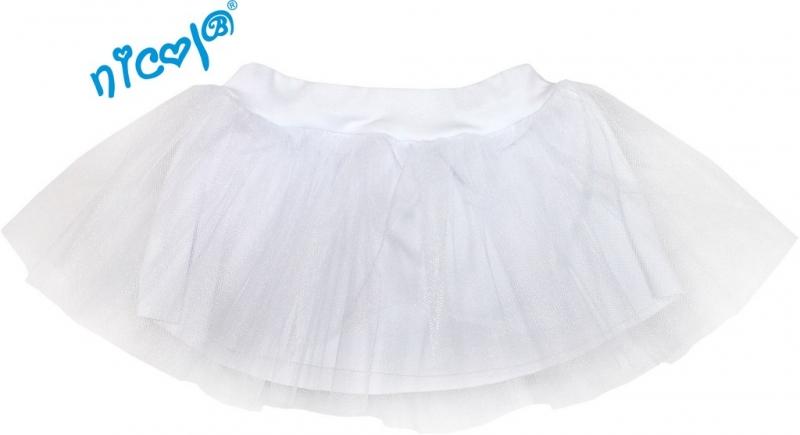 Tutu suknička Summer Lazy - biela