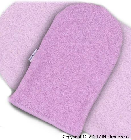 Žinka froté - lila / fialová