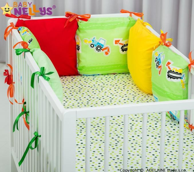 Mantinel BE LOVE Baby Nellys ® - vankúšikový s obliečkami vzor č. 1014